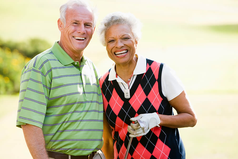 Active Care - people playing golf