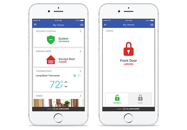 smartphone home automation system